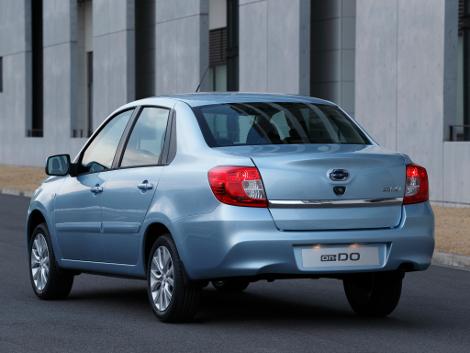 Японская компания назвала рублевую стоимость седана On-DO