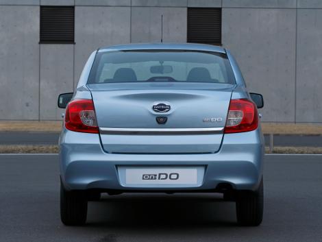 Японская компания назвала рублевую стоимость седана On-DO. Фото 1