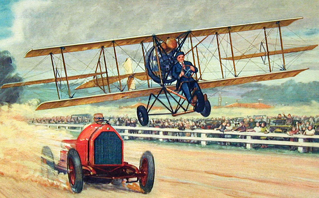 Самолеты против автомобилей - история противостояния. Фото 3
