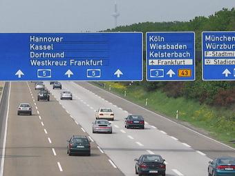 Автобаны Германии предложили сделать платными