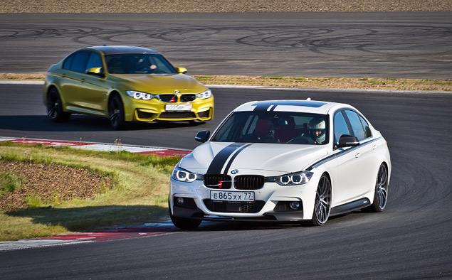 """Насколько новая BMW M3 окажется круче """"гражданской"""" 335i?. Фото 5"""