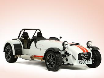 Caterham снял с конвейера экстремальный спорткар R500