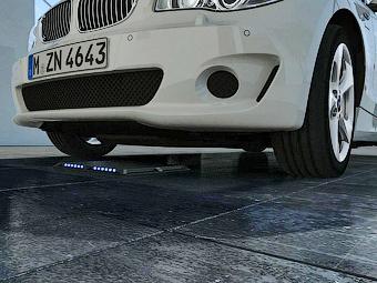 BMW и Daimler вместе разработают беспроводные электрозаправки