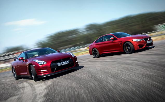 Где делают самые крутые суперкары: тест Chevrolet Corvette, BMW M4, Jaguar F-Type и Nissan GT-R. Фото 3