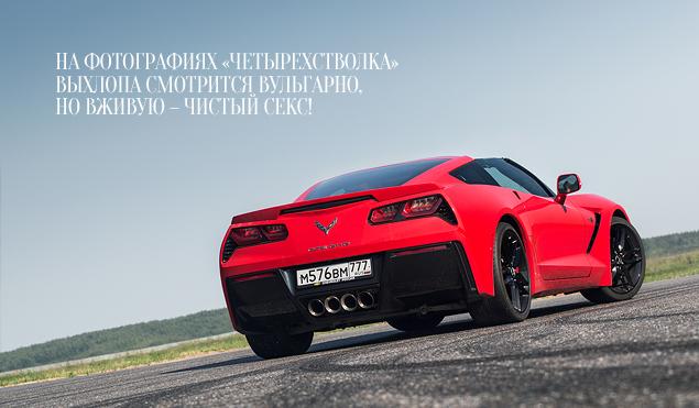Где делают самые крутые суперкары: тест Chevrolet Corvette, BMW M4, Jaguar F-Type и Nissan GT-R. Фото 12