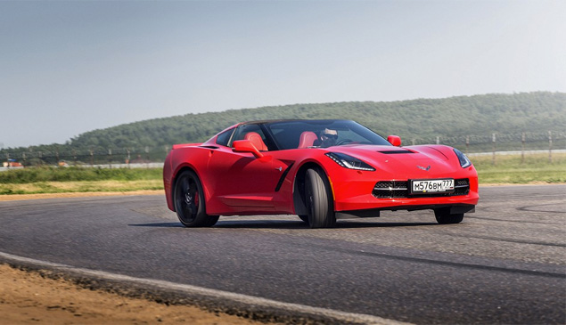 Где делают самые крутые суперкары: тест Chevrolet Corvette, BMW M4, Jaguar F-Type и Nissan GT-R. Фото 13