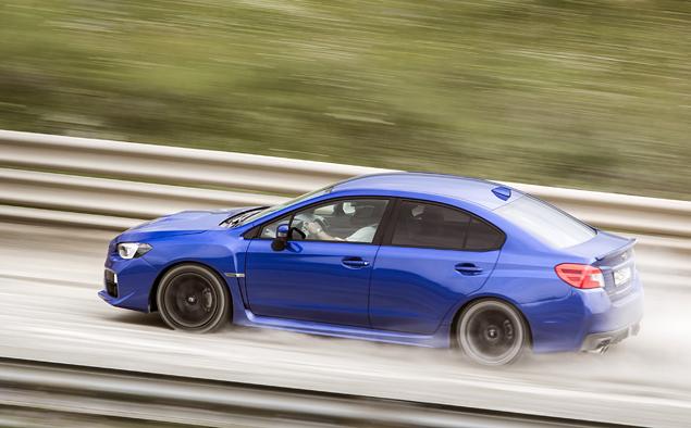 Тест новой Subaru WRX: на асфальте и на грунте. Фото 1