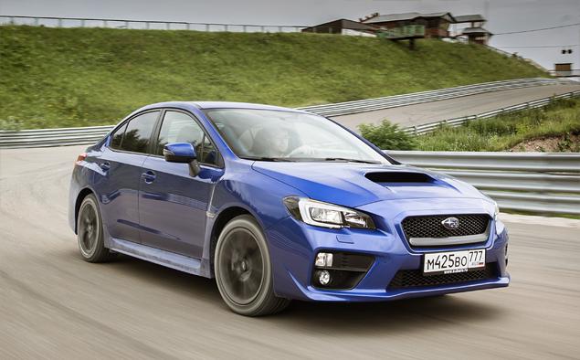 Тест новой Subaru WRX: на асфальте и на грунте. Фото 3