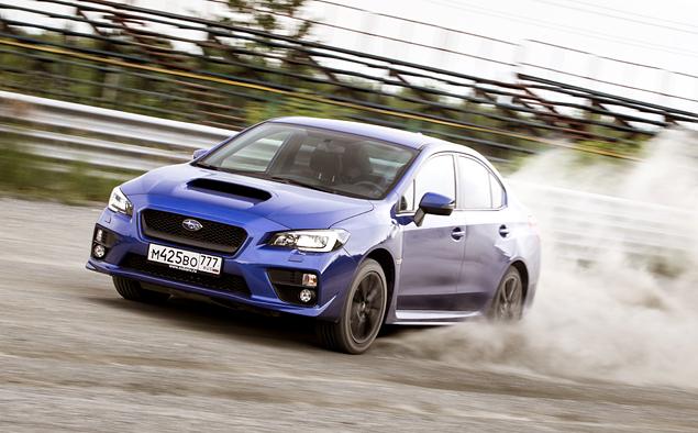 Тест новой Subaru WRX: на асфальте и на грунте. Фото 4