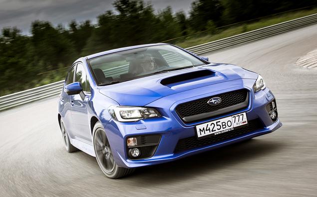Тест новой Subaru WRX: на асфальте и на грунте. Фото 6