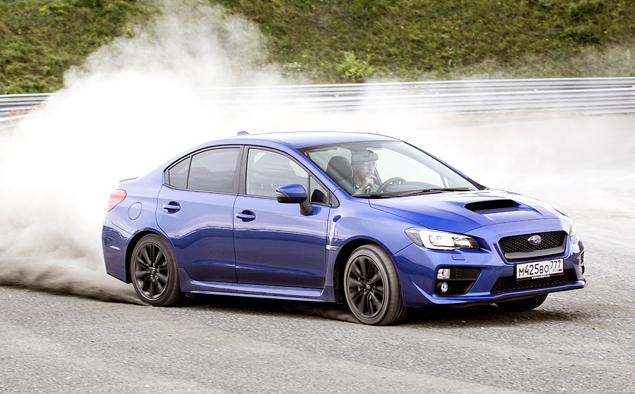 Тест новой Subaru WRX: на асфальте и на грунте. Фото 7