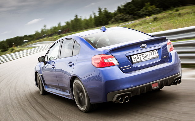 Тест новой Subaru WRX: на асфальте и на грунте. Фото 8