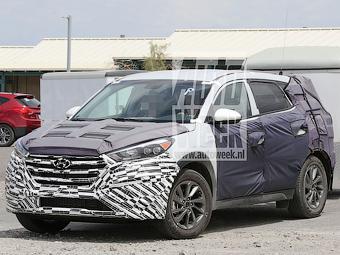 Шпионы сфотографировали оптику следующего Hyundai ix35
