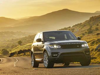 Внедорожники Range Rover обновились