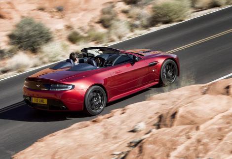 Aston Martin V12 Vantage S Roadster получил 573-сильный мотор