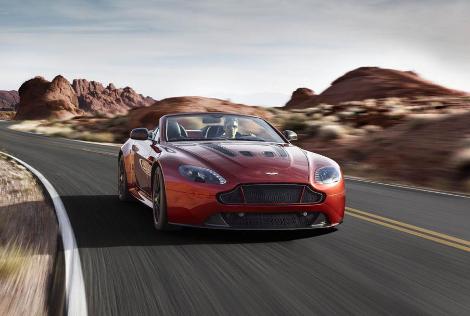 Aston Martin V12 Vantage S Roadster получил 573-сильный мотор. Фото 2