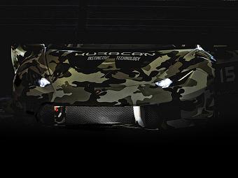 Компания Lamborghini показала первый тизер гоночного Huracan