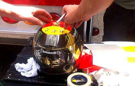 Лидер Формулы-1 планировал раскрасить шлем в честь победы футбольной сборной Германии