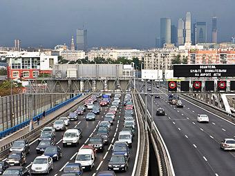 На Третьем транспортном кольце в Москве снизят максимальную скорость