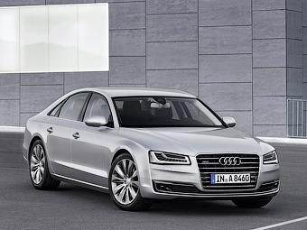 Audi оснастит гибридный седан A8 турбодизелем V6
