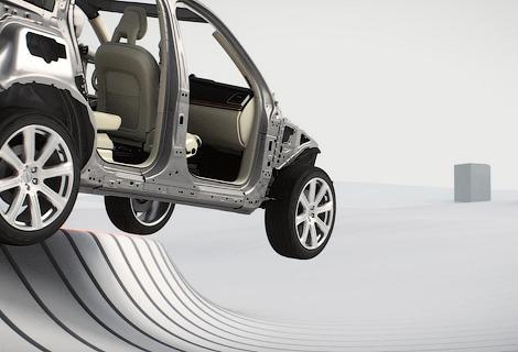 Следующий XC90 сможет сам тормозить на перекрестках и передвигаться в пробках