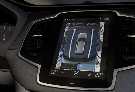 Следующий XC90 сможет сам тормозить на перекрестках и передвигаться в пробках. Фото 3