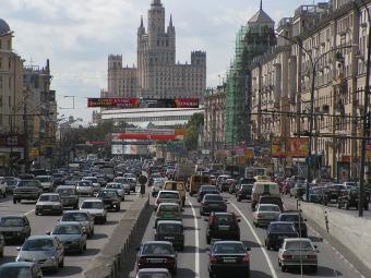 На Садовом кольце в Москве сократится количество полос