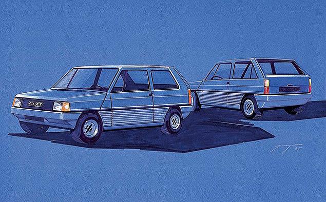 От шедевра дизайна до драйверс-кара: история Fiat Panda. Фото 1