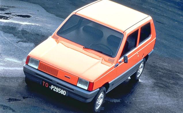 От шедевра дизайна до драйверс-кара: история Fiat Panda. Фото 5