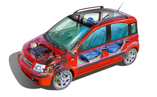 От шедевра дизайна до драйверс-кара: история Fiat Panda. Фото 8