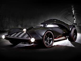 "В США построили машину Дарта Вейдера с мотором от ""Корвета"""