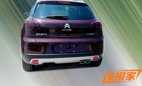 Компактный вседорожник Citroen получит имя C3-XR. Фото 1