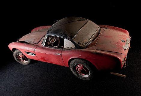 Модель 507 прислал вМюнхен еепоследний владелец. Фото 1