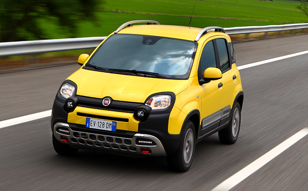 Тест-драйв малолитражки Fiat Panda Cross, которая решила стать кроссовером. Фото 7