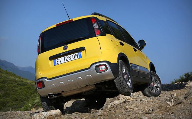 Тест-драйв малолитражки Fiat Panda Cross, которая решила стать кроссовером. Фото 11