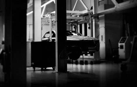 Британцы опубликовали тизер седана Lagonda
