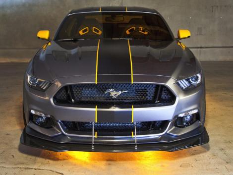 Ford посвятил спецверсию купе американскому истребителю-бомбардировщику. Фото 2