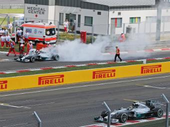 Нико Росберг выиграл квалификацию Гран-при Венгрии