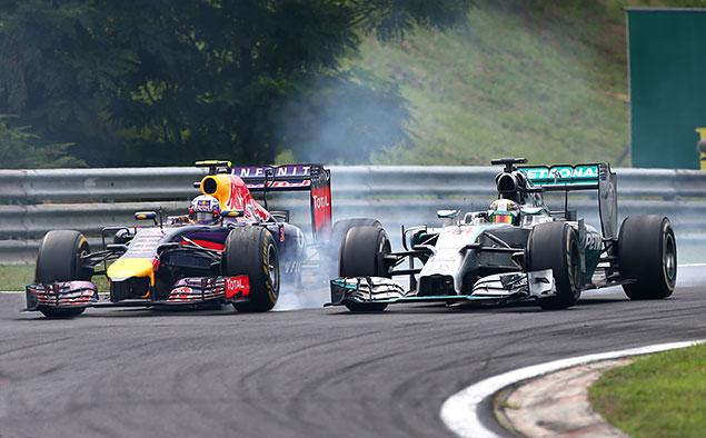 Формула-1 устроила шоу в Будапеште. Фото 4
