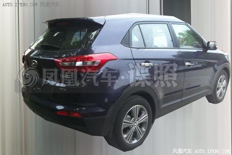 Появились первые изображения вседорожника Hyundai ix25