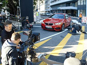 Тизер BMW оказался рекламой нового дрифт-ролика