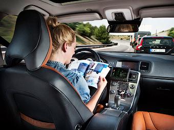 Британцам разрешат ездить на автомобилях с автопилотом с 2015 года