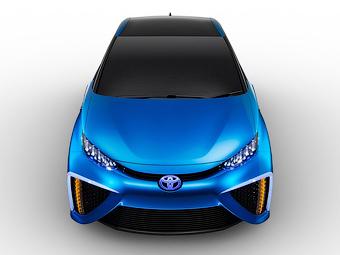 «Тойота» назовет первую водородную модель «Будущее»