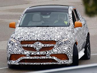 Опубликованы новые снимки AMG-версии Mercedes-Benz ML Coupe