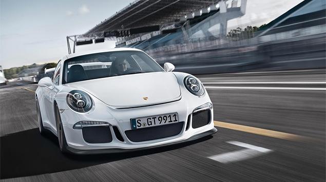 Тест трекового суперкара Porsche 911 GT3. Фото 1