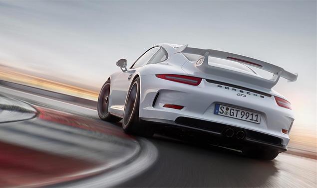 Тест трекового суперкара Porsche 911 GT3. Фото 3
