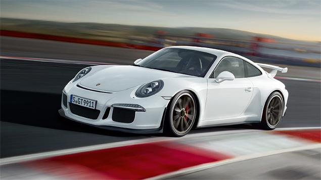 Тест трекового суперкара Porsche 911 GT3. Фото 4