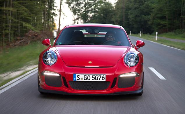 Тест трекового суперкара Porsche 911 GT3. Фото 5