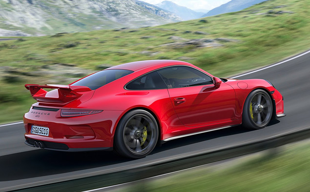 Тест трекового суперкара Porsche 911 GT3. Фото 6
