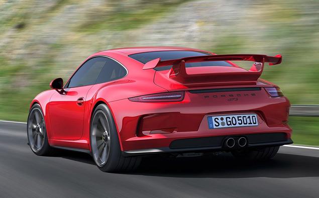Тест трекового суперкара Porsche 911 GT3. Фото 8